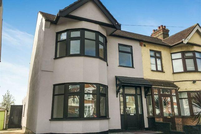 Thumbnail End terrace house for sale in Castleton Road, Goodmayes