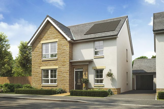 "Thumbnail Detached house for sale in ""Ballater"" at Malletsheugh Road, Newton Mearns, Glasgow"