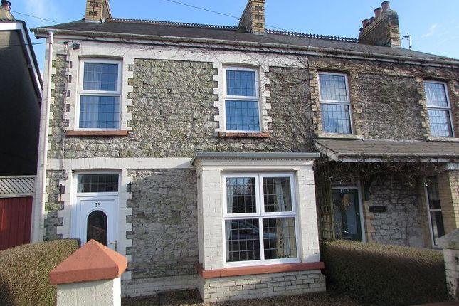 Thumbnail Semi-detached house for sale in Coychurch Road, Pencoed, Bridgend.