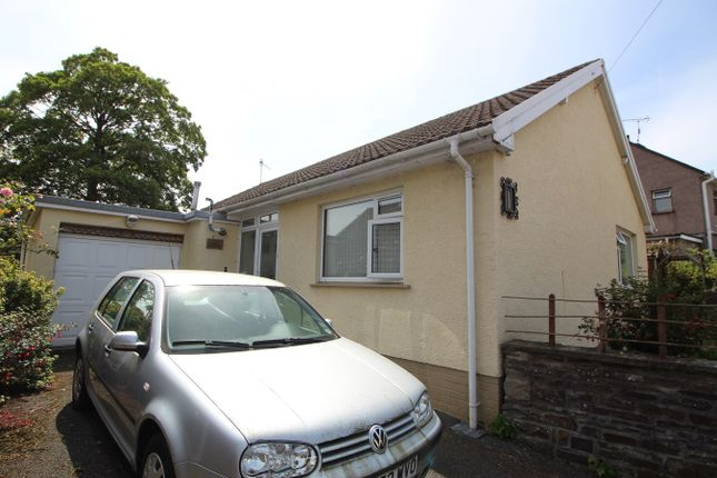 Thumbnail Detached bungalow for sale in Union Road East, Abergavenny