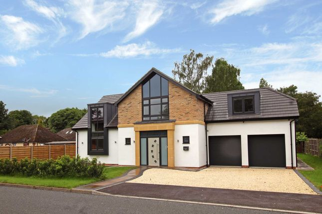 Thumbnail 4 bed detached house for sale in St Edwards Drive, Sudbrooke