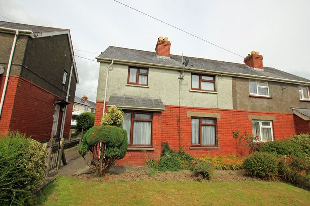 Thumbnail Semi-detached house to rent in Fountain Hall Terrace, Carmarthen, Carmarthenshire