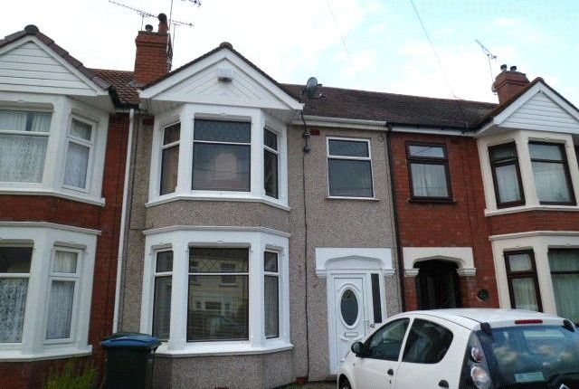 Thumbnail Property to rent in Welgarth Avenue, Coundon, Coventry