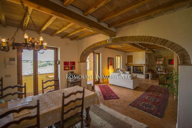 Wine-Estate With Panoramic View For Sale San Gimignano, Tuscany