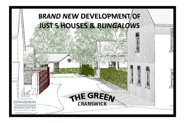 Thumbnail Detached house for sale in Plot 2, The Green, Cranswick, Driffield