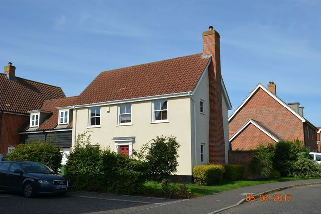 Thumbnail Link-detached house for sale in Sowdlefield Walk, Mulbarton, Norwich, Norfolk