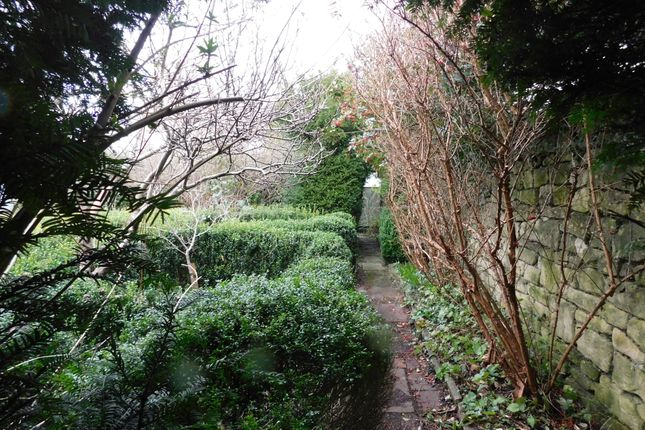 Garden of Rose Cottages, Combe Down BA2