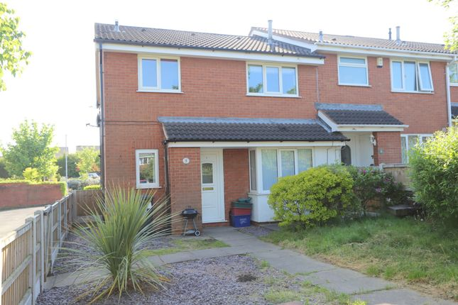 Thumbnail Town house to rent in Haslington Close, Waterhayes