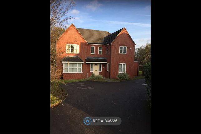 Thumbnail Detached house to rent in Badgers Croft, Newcastle Under Lyme