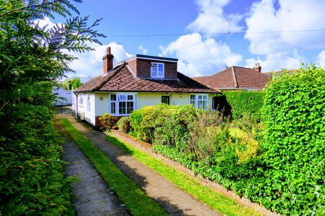 Thumbnail Detached bungalow for sale in Lowestoft Road, Worlingham, Beccles