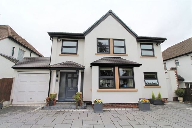 Thumbnail Detached house for sale in Blackwood Avenue, Woolton, Liverpool, Merseyside