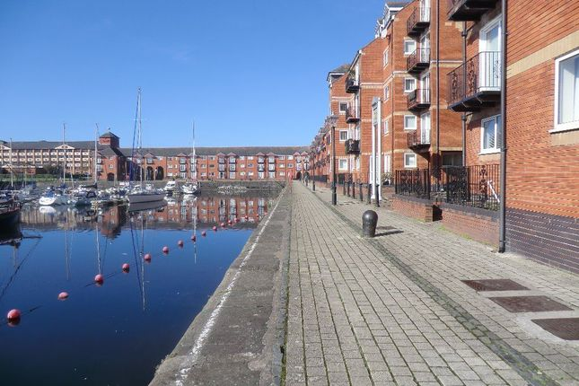 Thumbnail Flat to rent in Penryce Court, Victoria Quay, Maritime Quarter, Swansea