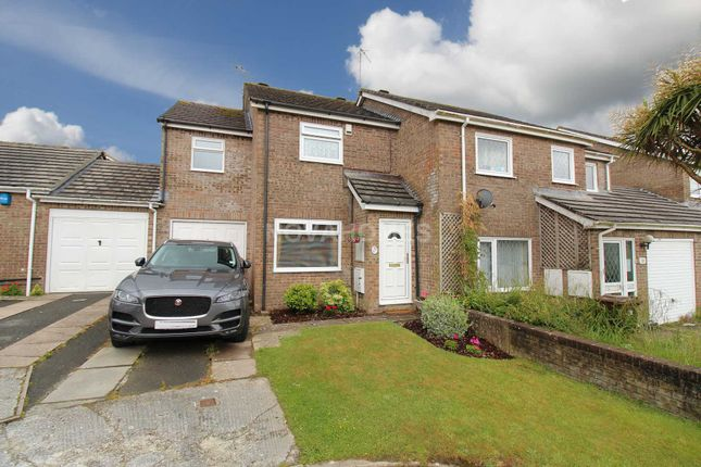 Thumbnail End terrace house for sale in Penlee Park, Torpoint