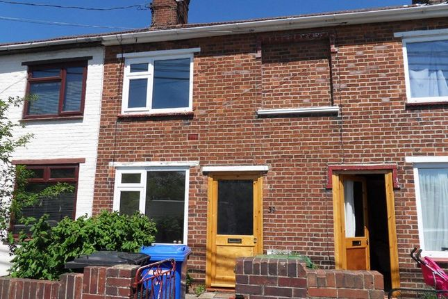 Thumbnail Terraced house to rent in Caxton Road, Beccles