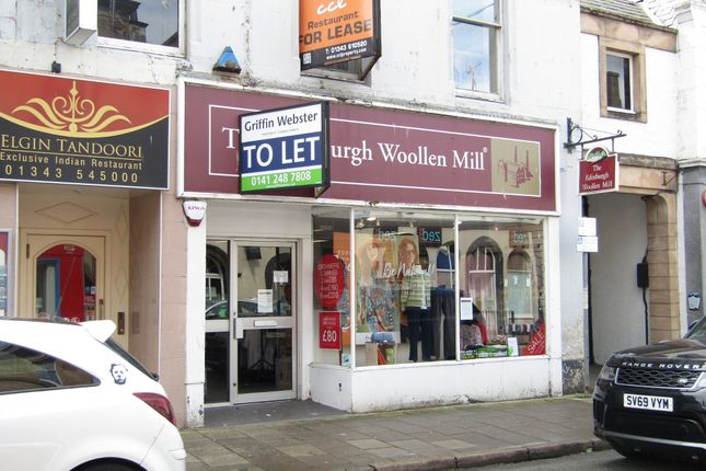 Thumbnail Retail premises to let in High Street, Elgin