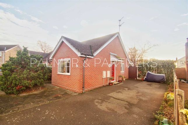 Thumbnail Bungalow for sale in Cornflower Close, Stanway, Colchester