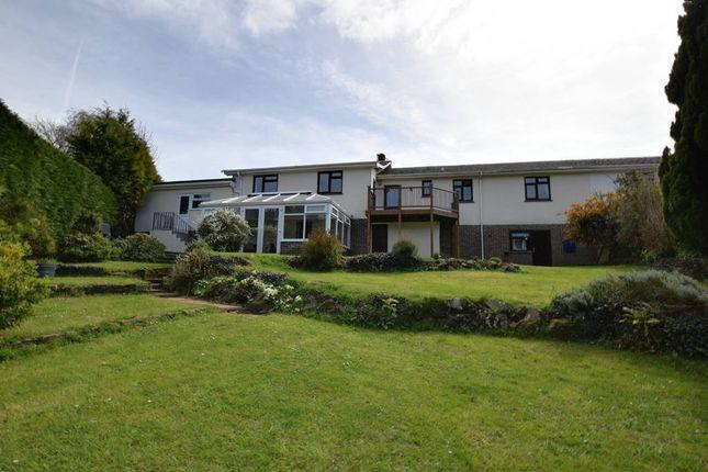 Thumbnail Semi-detached house for sale in Trusham, Newton Abbot, Devon