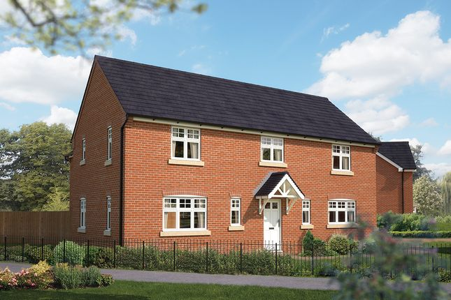 "Thumbnail Detached house for sale in ""The Buckby"" at Station Road, Long Buckby, Northampton"