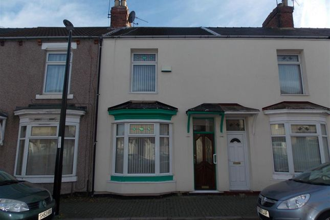 Thumbnail Terraced house for sale in Warwick Street, Middlesbrough