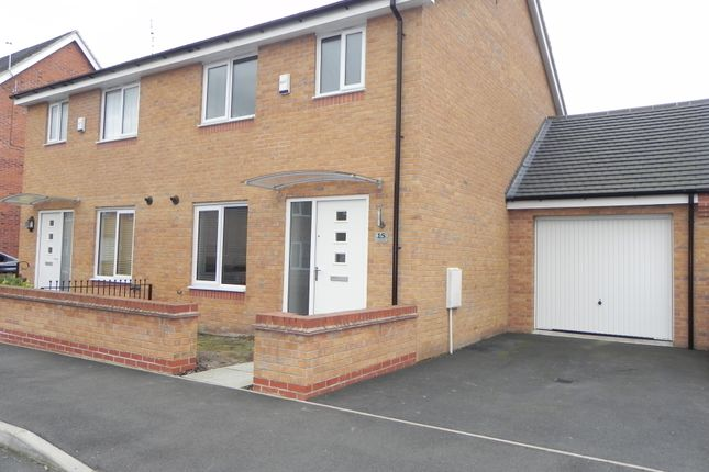 1 bed semi-detached house to rent in Horwood Drive, West Bridgford