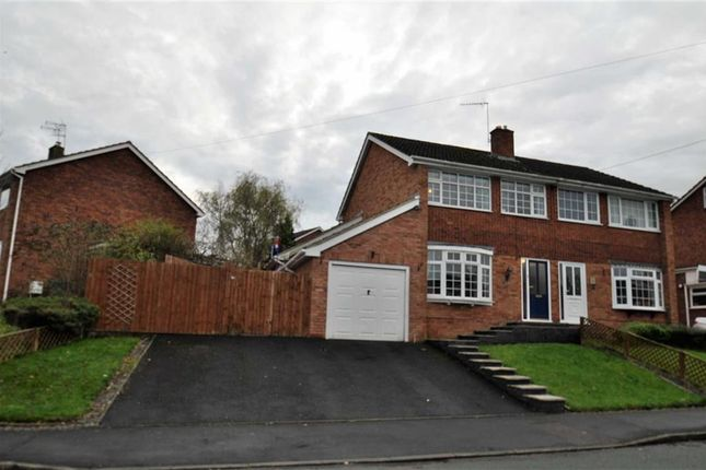 Thumbnail Semi-detached house for sale in Dunval Road, Bridgnorth, Shropshire