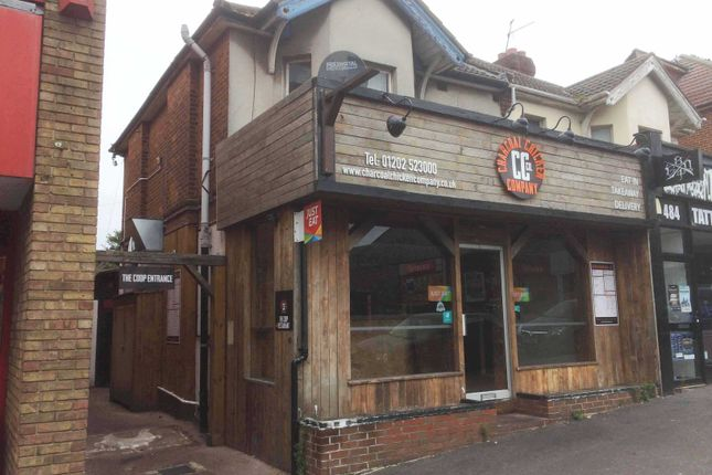 Thumbnail Restaurant/cafe to let in Wimborne Road, Winton