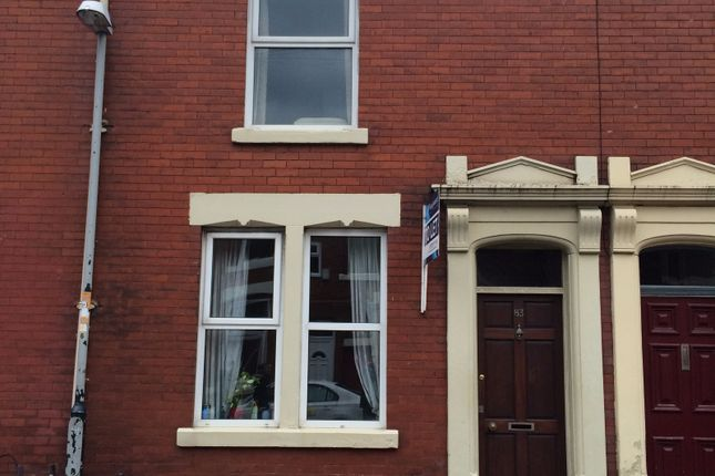 Thumbnail Terraced house to rent in Eldon Street, Preston