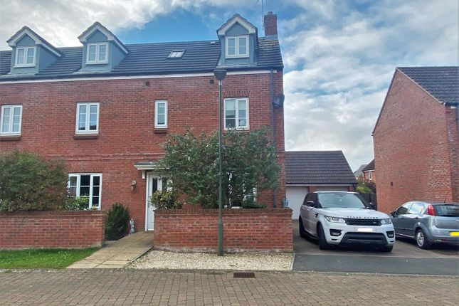 Thumbnail End terrace house to rent in O'connor Close, Staunton, Gloucester
