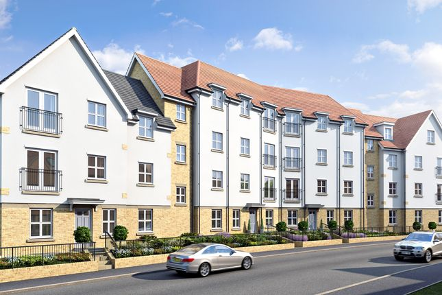 Thumbnail Flat for sale in Regent's Court, South Street, Bishop's Stortford, Hertfordshire
