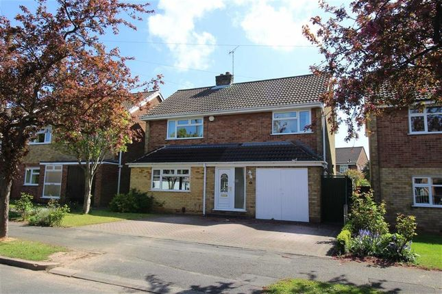 Thumbnail Detached house for sale in Cobthorne Drive, Allestree, Derby