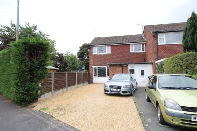 Thumbnail Semi-detached house for sale in Rugby Drive, Macclesfield