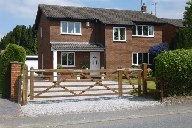 Thumbnail Detached house for sale in Station Road, Overton, Wrexham