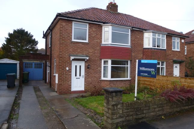 Thumbnail Semi-detached house to rent in 5 Ings View, Shipton Road, Rawcliffe York