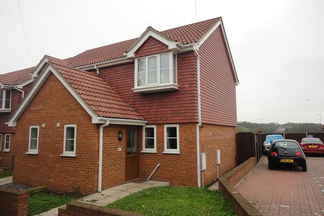 Thumbnail Semi-detached house to rent in Wyles Street, Gillingham, Kent.