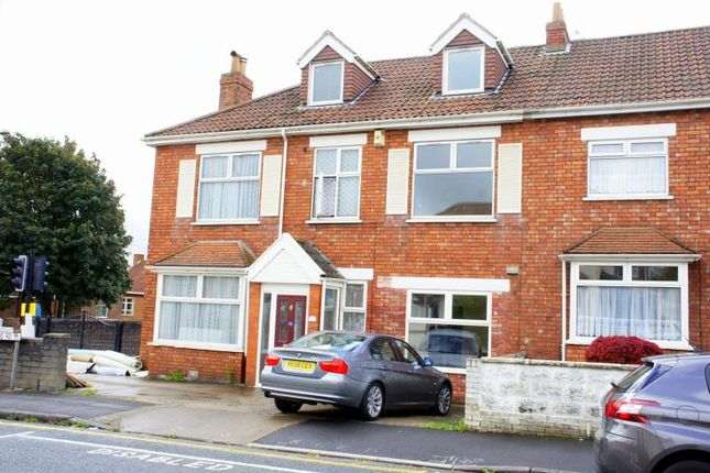 Thumbnail End terrace house to rent in Downend Road, Horfield, Bristol