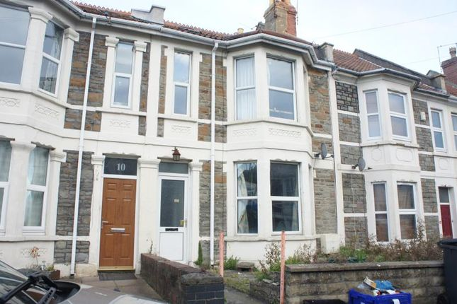 Thumbnail Terraced house to rent in Quarrington Road, Horfield, Bristol