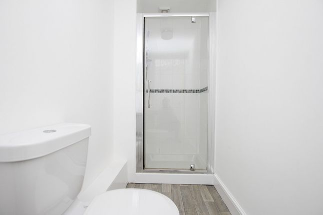 Shower Room of Flat 3 12 Warrior Gardens, St. Leonards-On-Sea, East Sussex. TN37