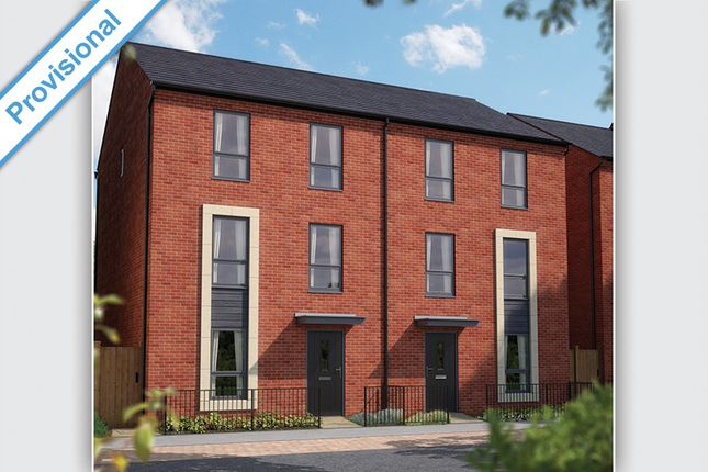 """Thumbnail Town house for sale in """"The Shenley"""" at Barrosa Way, Whitehouse, Milton Keynes"""