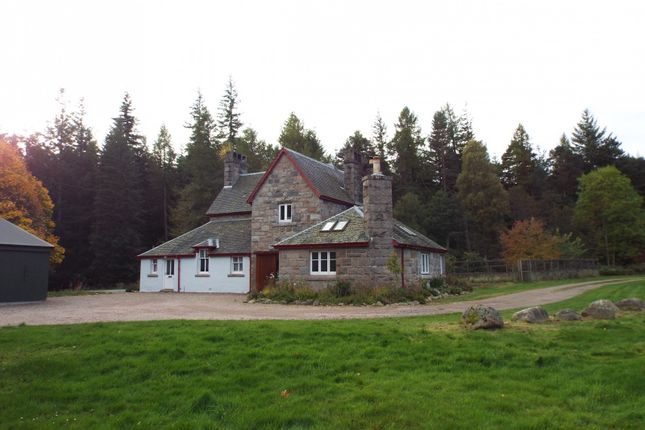 Thumbnail Detached house to rent in Tanarside, Glen Tanar, Aboyne, Aberdeenshire
