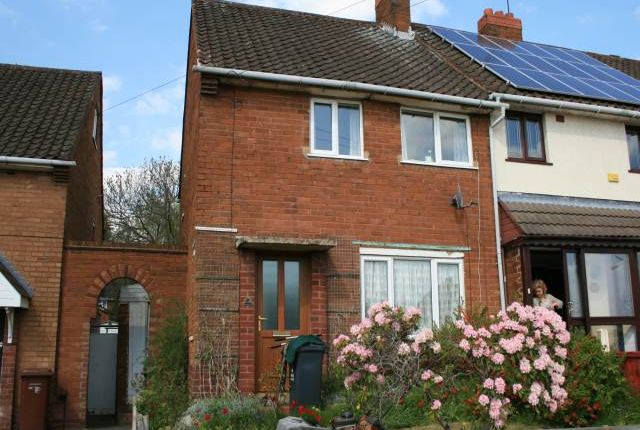 Thumbnail End terrace house to rent in Stephenson Avenue, Beechdale, Walsall