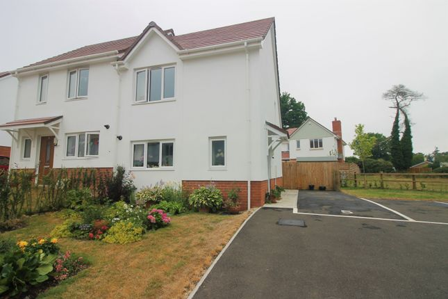 Thumbnail Semi-detached house for sale in Hawthorne Close, Ottery St Mary
