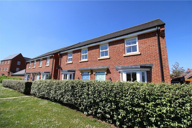 Thumbnail Semi-detached house to rent in Greenkeepers Road, Great Denham, Bedford