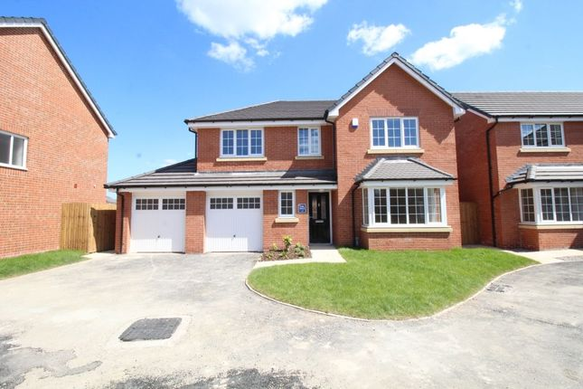 Thumbnail Detached house for sale in Eton Almond Brook Road, Standish, Wigan