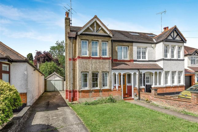 Thumbnail Semi-detached house for sale in The Crescent, Loughton, Essex