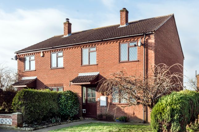 3 bed semi-detached house for sale in Bowlers Close, Freethorpe, Norwich