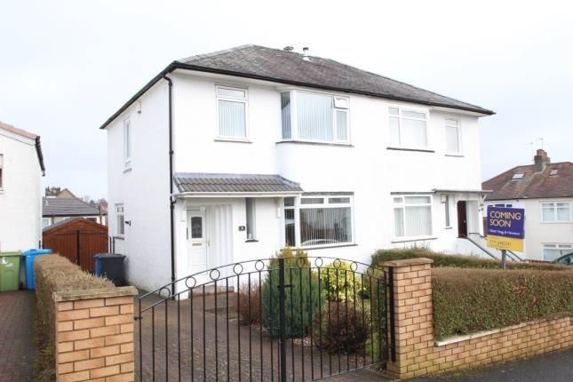 Thumbnail Semi-detached house for sale in Southlea Avenue, Orchard Park, Glasgow, Lanarkshire