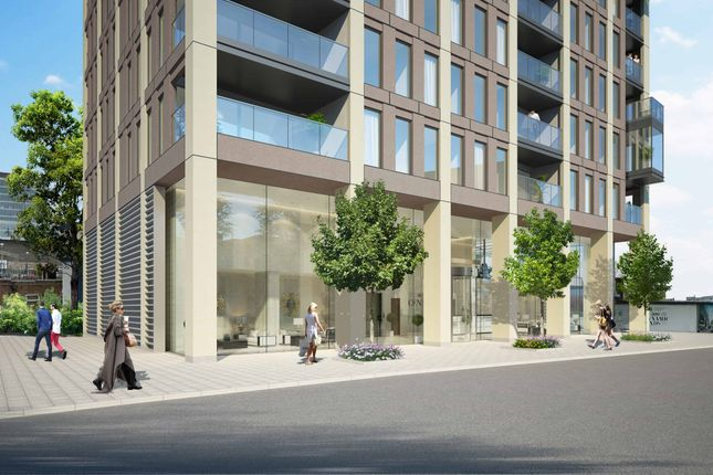 Thumbnail Flat for sale in Legacy Tower, 88 Great Eastern Road, London