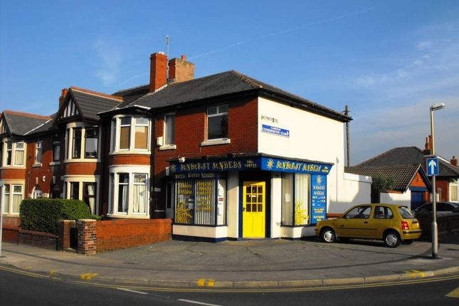 Thumbnail Commercial property for sale in Warley Road, Blackpool