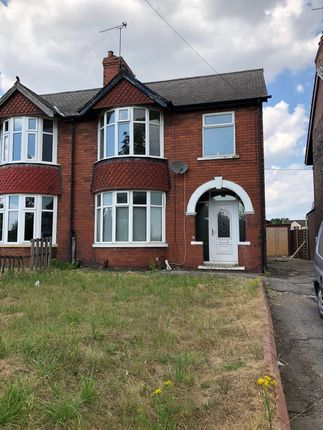 Thumbnail Semi-detached house to rent in Doncaster Road, Scunthorpe