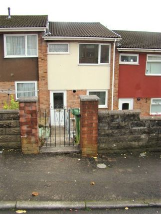 Thumbnail Terraced house to rent in Quarry Hill Close, Maesycoed, Pontypridd